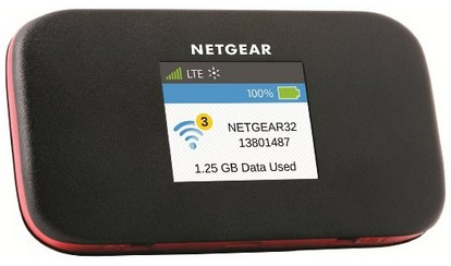 Netgear Around Town Mobile Internet AC778AT angle
